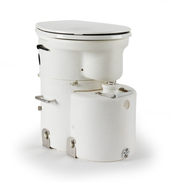 Air Head compost toilet with Large seat