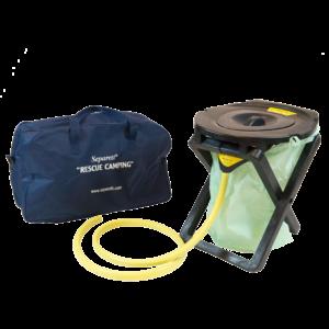 Separett Rescue Camping 25 portable compost toilet