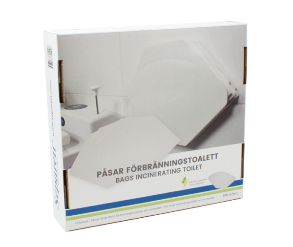 Separett Bags for Incinerating Toilet Box 2