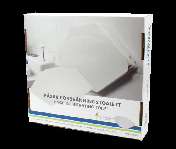 Separett Bags for Incinerating Toilet Box 3