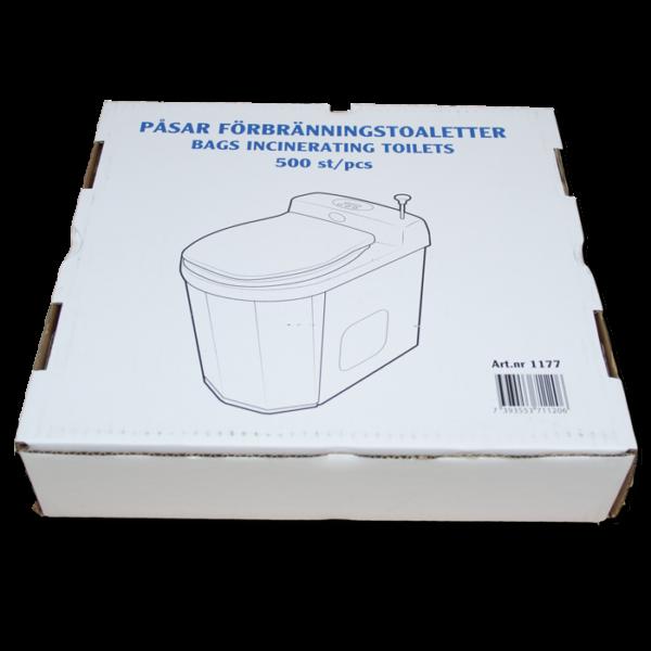 Separett Bags for Incinerating Toilet Box