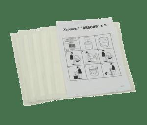 Separett Absorbant Papers