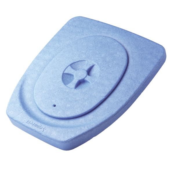 Separett Insulated Seat Blue
