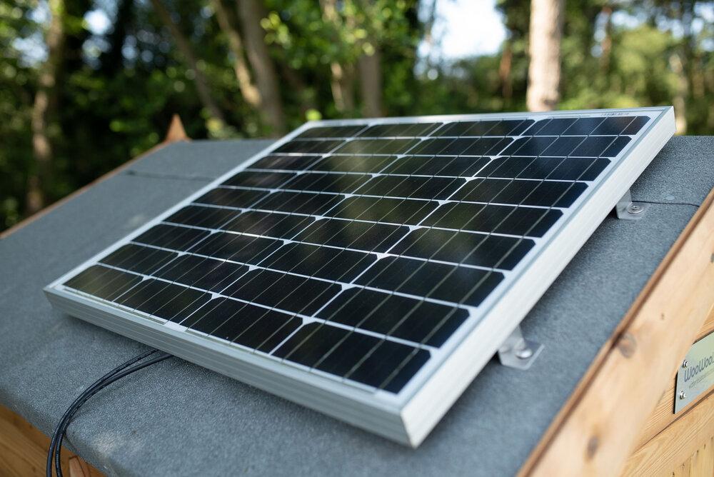 WooWoo Loo Solar Panel