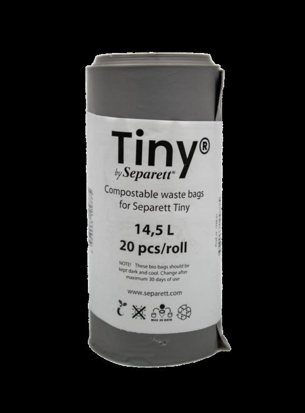 Roll of 20 compostable bags for Separett Tiny
