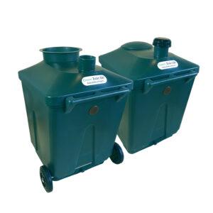 WooWoo Green Toilet 330