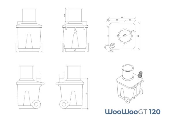 WooWooGT 120 Measurements