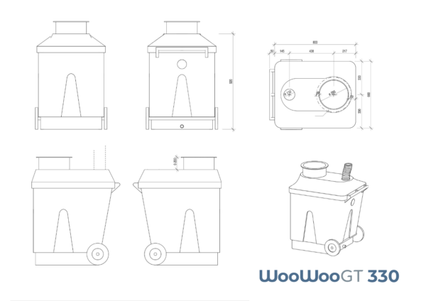 WooWooGT 330 Measurements