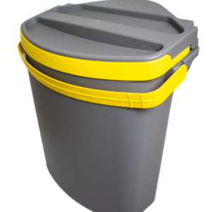 Solid waste container for Separett Tiny
